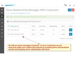 Automated Customer Care Messages(Request Review) — OC 2.X-1.5.X