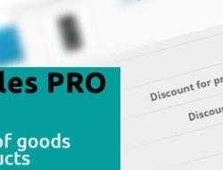 DISCOUNT SALES PRO module discounts