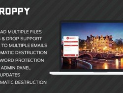 Droppy v1.3.1 – Online file sharing