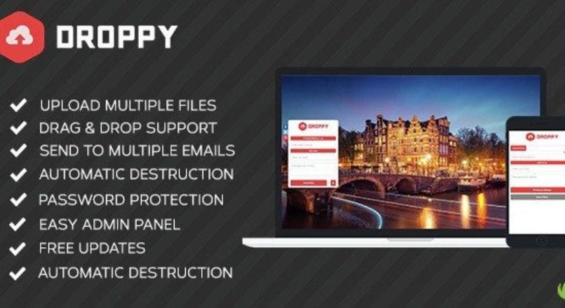 Droppy v1.3.1 – Online file sharing