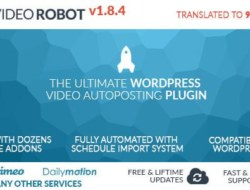 WP Video Robot v1.8.4