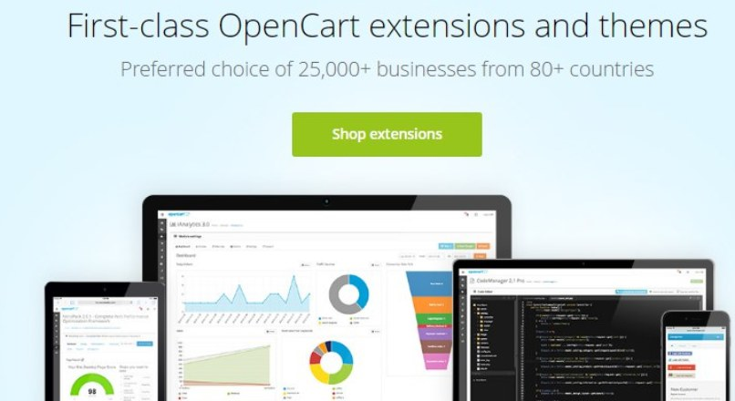 Огромная база модулей для Opencart 1.5 — 2.X от isenselabs.com