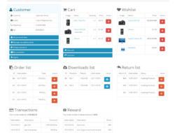 Simple Account Page Простой личный кабинет 2.x 1.12