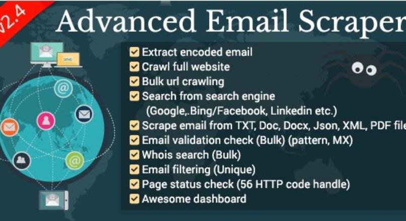 Advanced Email Scraper (AES)