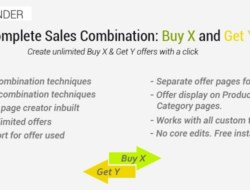 Complete Sales Combination : All Buy X and Get Y Offers