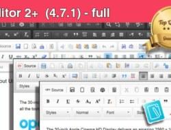 CKEditor 2+ (4.7.1) — full