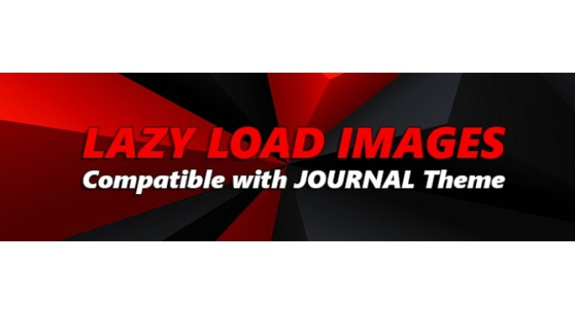 (VQMOD) Lazy load Images — Compatible with Journal Theme