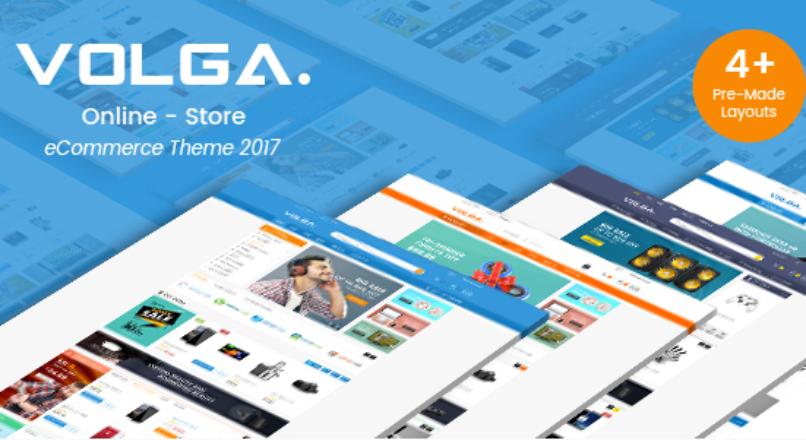 Volga — MegaShop Responsive Opencart 2.3 & 3.x Theme