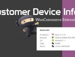 Customer Device Info — WooCommerce Plugin