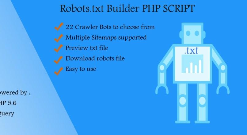 Robots.txt Builder — PHP Script