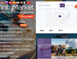 Classified Ads Script v1.6.1 — Infinity Market