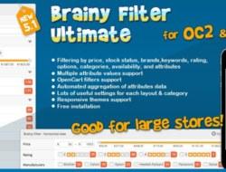 Brainy Filter Ultimate for OC2 & OC3