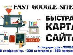 Fast Google Sitemap — Быстрая карта сайта