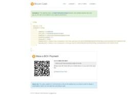 Bitcoin Cash Receive Payments — CoinPayments API