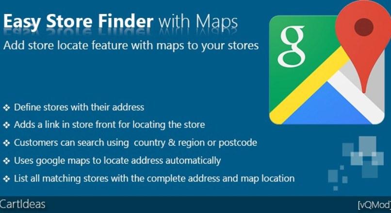 Easy Store Finder with Maps — Адреса на карте Google