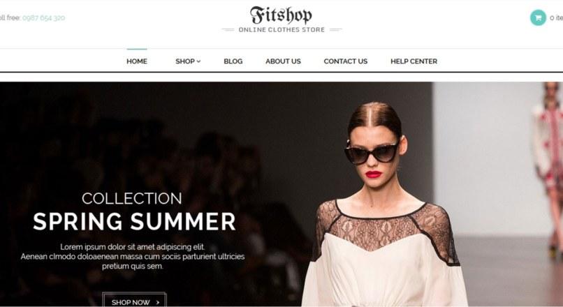 Fitshop — Shopify Theme