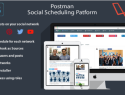 Postman (Facebook/Twitter/Youtube/Instagram) Scheduling Platform