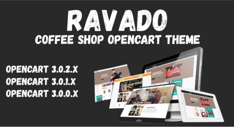 Ravado — Coffee Shop Opencart Theme