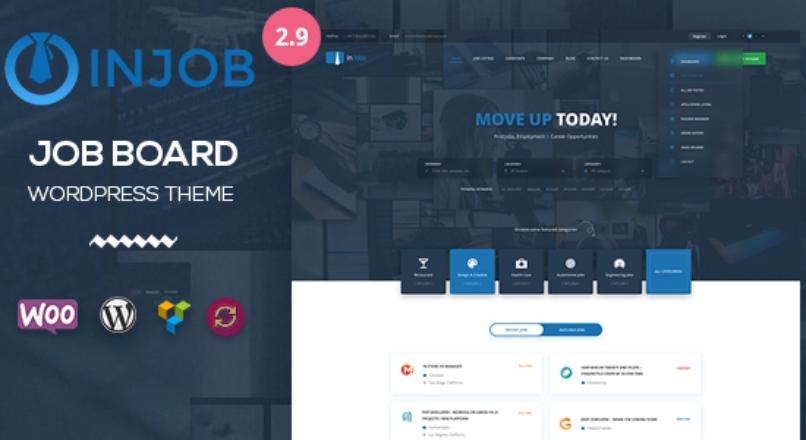 Job Board WordPress Theme — InJob v_2.9