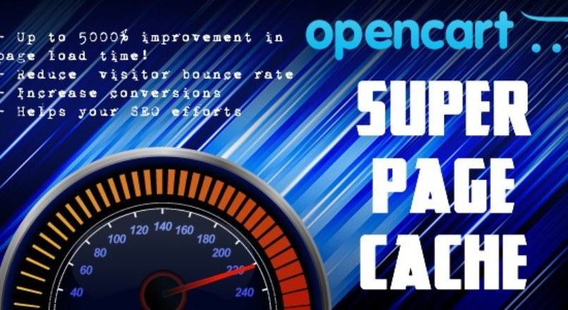 OpenCart Super Page Cache: Site speed booster v.2.0.4