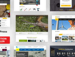 BuildPress — Multi-purpose Construction and Landscape WP Theme