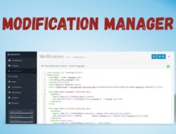 Modification Manager