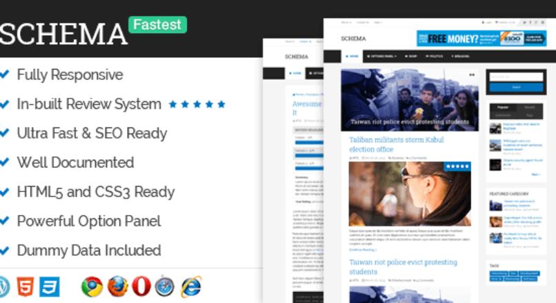 Schema 3.4.8 – Fastest SEO Theme Available for WordPress