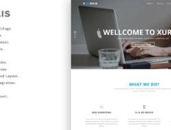 Xurais — Creative Business WordPress Theme