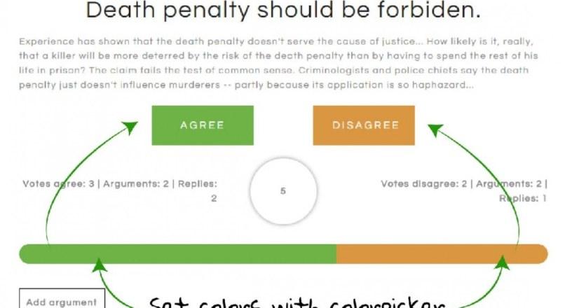 Agree Disagree Debates WordPress Plugin