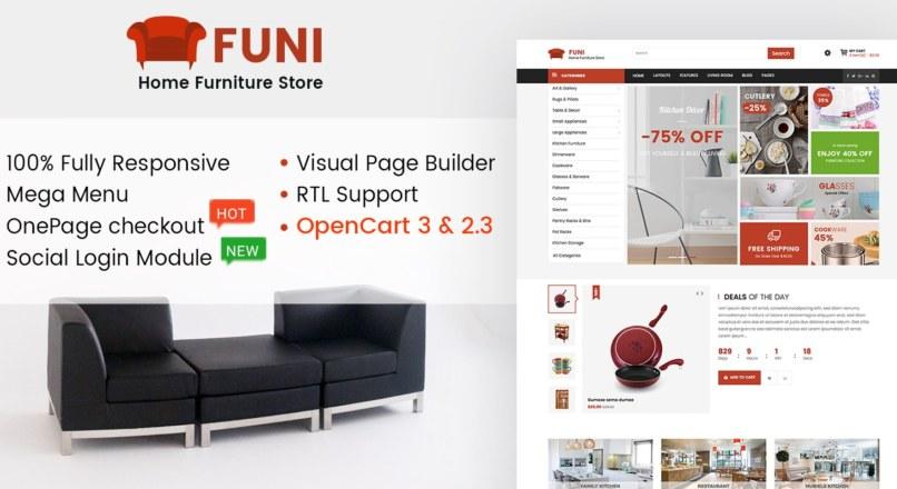 Funi — Multipurpose OpenCart Theme