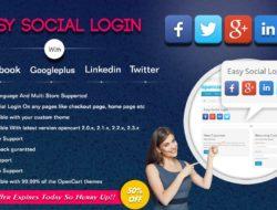 Advanced Social Login Opencart / Авторизация на сайте