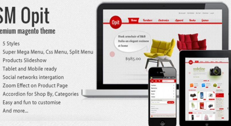 SM Opit — Magento Theme