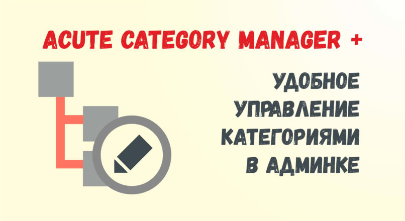 Acute Category Manager + Opencart 2.3