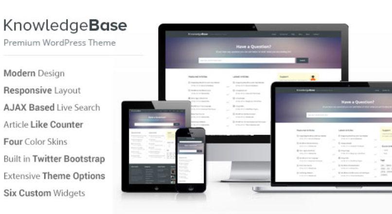 Knowledge Base — A WordPress Wiki Theme