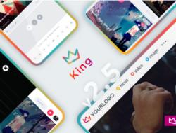 King — WordPress Viral Theme nulled