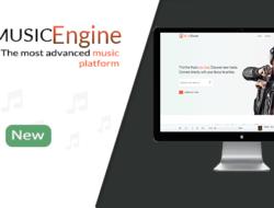 MusicEngine v1.1 — Social Music Sharing Platform — nulled
