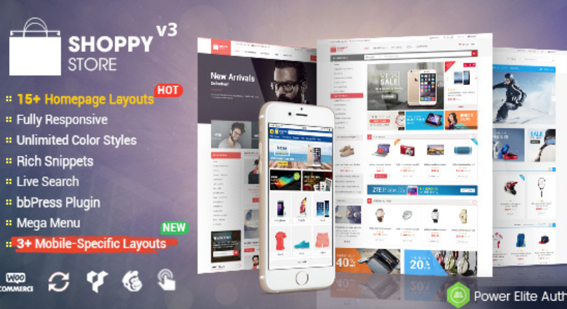 ShoppyStore — Multi-Purpose Responsive WooCommerce Theme