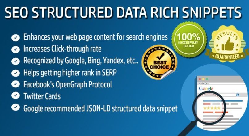 SEO Structured Data — Rich Snippets — Microdata