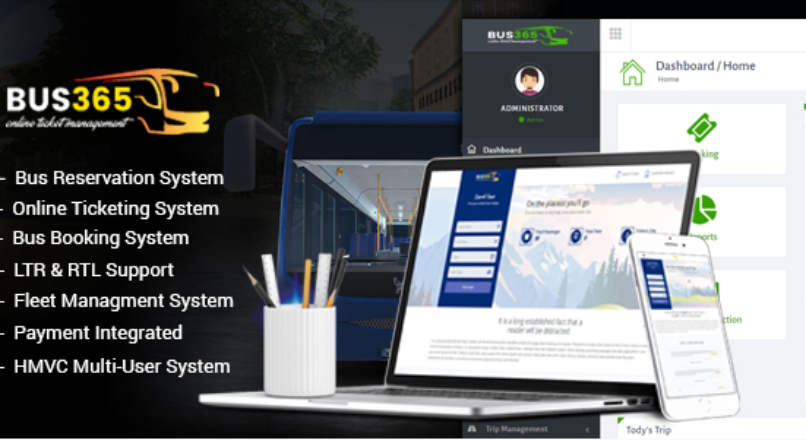 Bus365 — Bus Reservation System with Website — Бронирование Автобусов