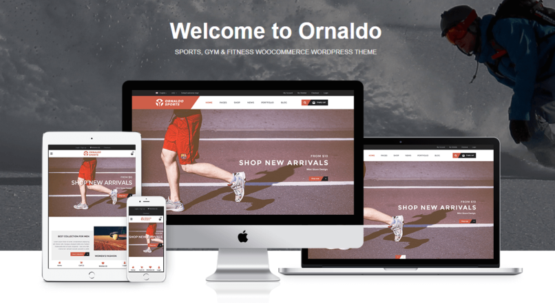 Ornaldo — Sports, Gym & Fitness WooCommerce WordPress Theme
