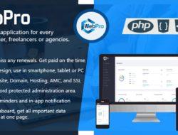 WebPro — Digital Services Management Application