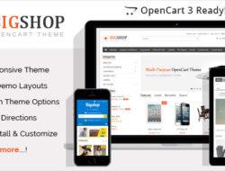 Bigshop — Multi-Purpose Responsive OpenCart Theme
