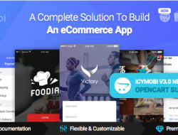 IcyMobi – All-in-one E-commerce App Solution