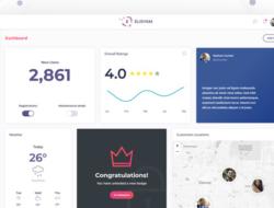 Elisyam — Web App & Admin Dashboard Template
