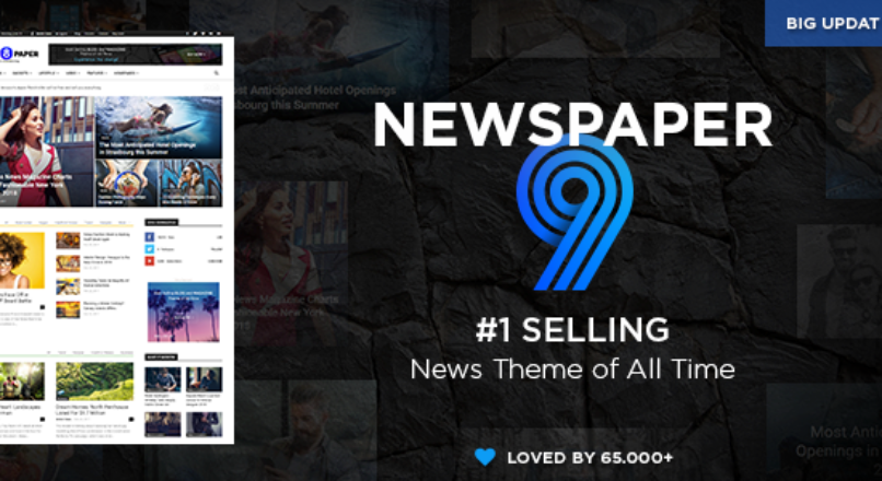 Newspaper v.9.1 WordPress News Theme