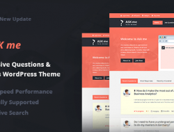 Ask Me 5.6 – Responsive Questions & Answers WordPress RUS