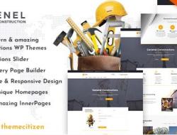 Enel — Construction & Building WordPress Theme