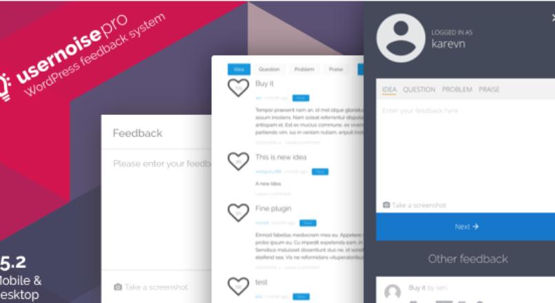 Usernoise Pro Modal Feedback & Contact form v.5.2.9