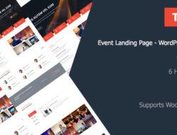 Tukio | Event Landing Page WordPress Theme