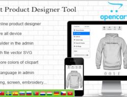 Opencart Custom Product Designer 4.4.1